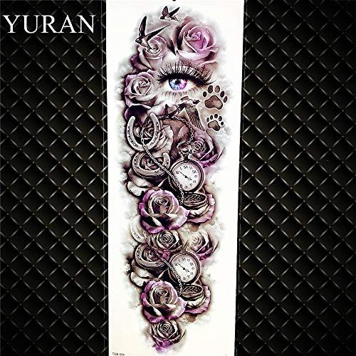 Gvdtykjf adesivo tatuaggio farfalla nera tatuaggi bambini gioielli adesivi rose viti trasferimento nero tatuaggi pasta lip stick 17x10 cm ggf206