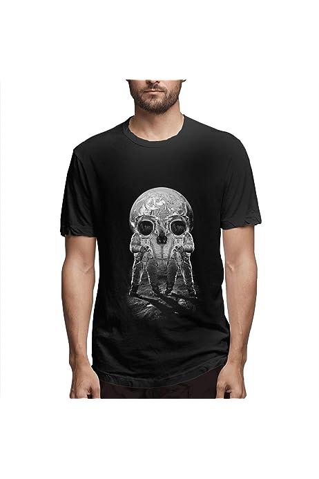 Camiseta con Estampado 3D de Calavera para Hombre, Manga ...