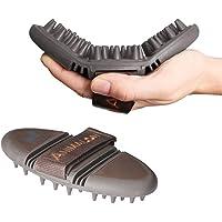 Amalon Careflex massaggio striglia–flessibile e massaggio con spazzola ergonomico con chiusura in velcro per Deluxe Grooming bag