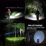 LE 2 Pack LED Torch, 14 LEDs Handheld Flashlights, Waterproof IP44, 6 AAA Batteries Included Bild 6