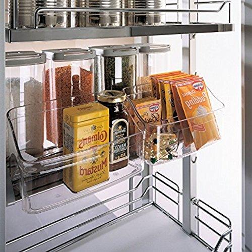 Vorratsschalen Set mit 2 Einlegeschalen für Apothekerauszug DISPENSA/Zubehör für Nobilia Apothekerschränke von SO-TECH®