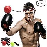 GEYUEYA Home Boksen trainingsbal, reflex fightball, punch boksen bal met hoofdband, reflex speed training boksen - praktische