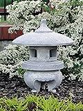 Top model grande lanterna di pietra massiccia Yukimi giapponese ha fatto del cast in pietra frostfest