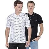 Merchant of Designs Men's Regular Fit Polo(Pack of 2)
