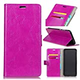 Casefirst Xiaomi Mi 6X Wallet Case, Stylish Slim PU Leather Surface Stand and Card Holders Wallet Phone Cover Bumper Pro