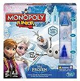 Gioco da tavola per bambini motivo Disney Frozen Edizione Monopoli Junior Bambini e Bambine Gioco Avventura