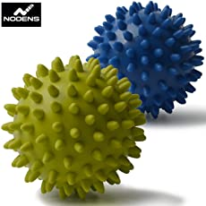 NODENS Textured Massage Ball for Targeted Foot Pain Relief (Pack of 2)