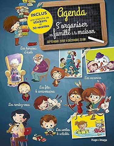 Calendrier Septembre - Agenda s'organiser en famille à la maison