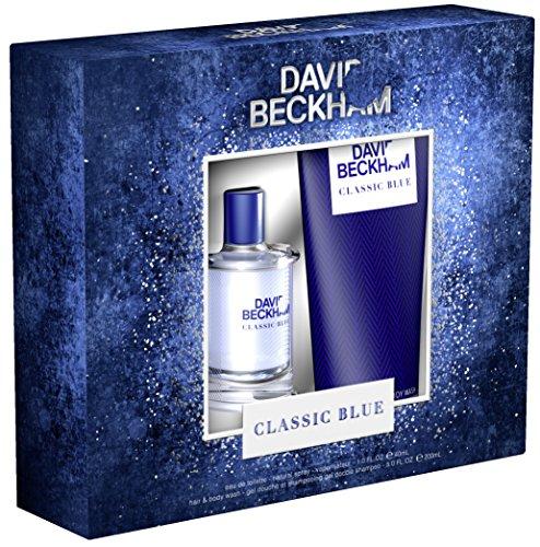 David Beckham Classic Blue Man Set (EDT 40 ml, Hair und Body Wash 200 ml), 1er Pack (1 x 240 ml) -