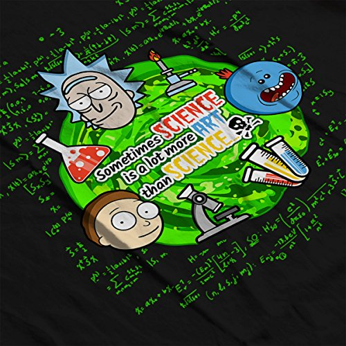 Sometimes Science Is More Art Rick And Morty Women's Vest Black
