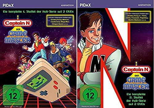 Captain N: Der Game Master Staffel 1+2 [DVD Set] (Der Captain N Master Game)