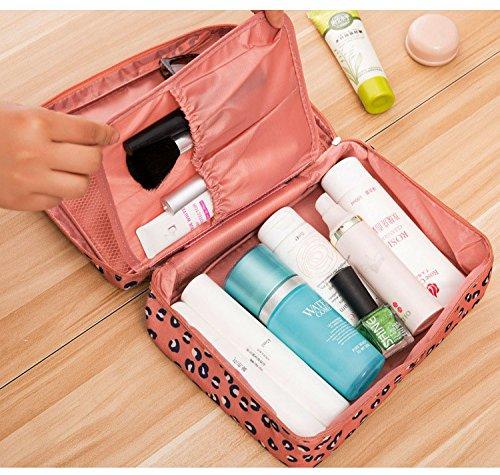 Tophie Cosmetico Bag Borse Viaggio Organizzatori Imballaggio Cubi di Viaggio,Impermeabile Custodia da Viaggio Wash Bag per Accessori Bagno e Trucco, Kit Rasura e Liquidi 4#