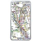 LAPINETTE COQUE-LUMIA-650-METRO - Funda para Microsoft Lumia 650, Diseño Metro Mapa