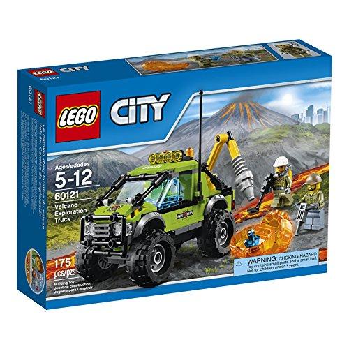 LEGO CITY 60121 - Camion delle esplorazioni vulcanico NEW 06 2016