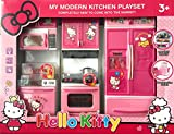 Best Barbie Kitchen Playsets - HELLO KITTY Modern Kitchen Play Set With Refrigerator Review