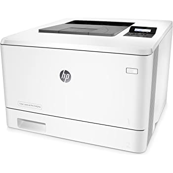 HP Color LaserJet Pro M452nw Farblaserdrucker (A4, Drucker, WLAN, LAN, HP ePrint, Airprint, USB, 600 x 600 dpi) weiß