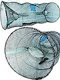 Storfisk fishing & more Extra Große Köderfisch Reuse mit Schnur Futtertasche Köderfisch Entnahme, Stück:1 Stück