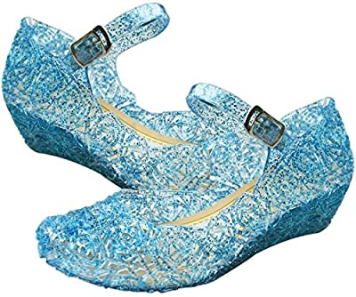 Zapatos de la Princesa Sandalias Infantil de Disfraz de Princesa de Niñas para Fiesta Carnaval Cumpleaños Cosplay de URAQT
