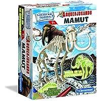 Ciencia y Juego Arqueojugando Mamut fluorescente, juego educativo (Clementoni 550272)