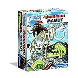 Ciencia y Juego - Arqueojugando Mamut fluorescente, juego educativo (Clementoni 550272)