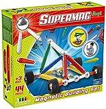 beluga Spielwaren 109 Supermag Maxi Wheels Children's 44-Piece Magnetic Building Set - Multicoloured