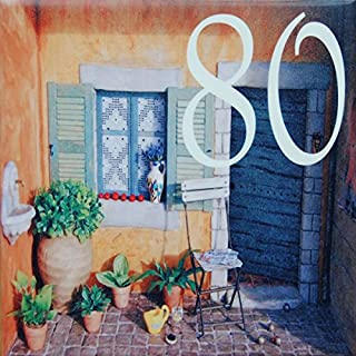 Azul'Decor35 Ceramic House Number - Choose your number and the size of your street sign!
