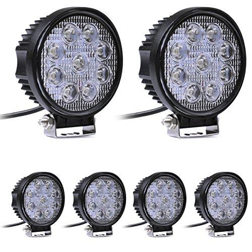 OUMIZHI 27 W 9 LEDs Offroad LED Arbeitslampe Flutlicht Arbeitslicht SUV, UTV, ATV LED Zubehör Licht Offroad Lampe 12 V 24 V [Energieklasse A]