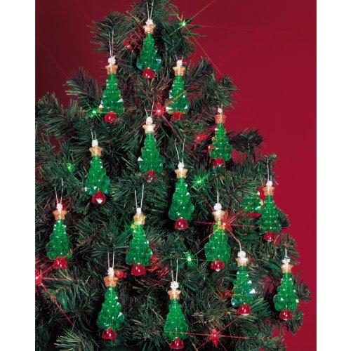 Beadery Kunststoff Holiday Perlen Ornament Kit Mini Bäume 5,7cm Macht 24 -