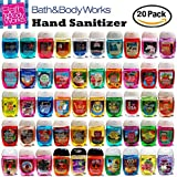 Bath And Body Works Pocketbac Hand Sanitizer Grab Bag Bundle Lot Of (20) Anti-Bacterial Hand Gels