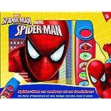 Spider-Man : Un livre et une lampe de poche musicale