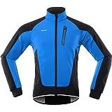 Lixada Giacca da Ciclismo da Uomo Antivento Impermeabile con Multi Tasche Maglia da Bici Termico Cappotto della Bicicletta pe