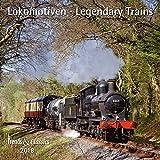 Lokomotiven Legendary Trains 2018 - Broschürenkalender - Wandkalender - mit herausnehmbarem Poster - Format 30 x 30 cm