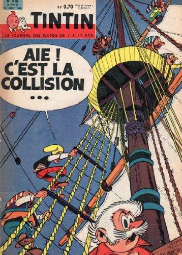 Tintin n° 618 - 25/08/1960 - couverture Mittéï
