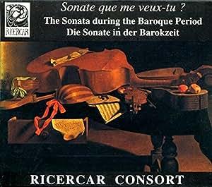 Sonata during the baroque period ricercar consort amazon for During the baroque period