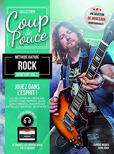 Roux Denis - coup de pouce guitare rock vol 2 + cd (guitare lectrique)