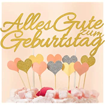 Ecooe Alles Gute Zum Geburtstag Kuchen Dekoration Happy Birthday