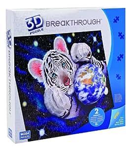 Mega Bloks Breakthrough 3D Tiger Puzzle