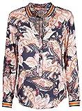 Emily van den Bergh Damen Bluse Größe 42 Mehrfarbig (bunt)