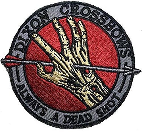 The Walking Dead Dixon Armbrüste Bügel Patch