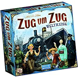 Days of Wonder DOW0003 - Zug um Zug Weltreise, Brettspiel Zug um Zug