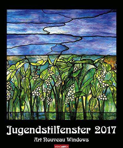 Jugendstilfenster - Kalender 2017