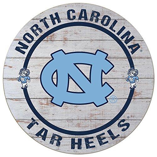 KH Sports Fan North Carolina Tar Heels Helm Kreis Wand Schild (North Tar Carolina Helm Heels)