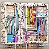 ZYJY Heimtextilien Einfache Kleidung/Rough stahlbeton Rohr/Student schlafsaal mit Tuch kabinett/Schlafzimmer Tuch kabinett/152 165cm 45 * * kategorie: schränke