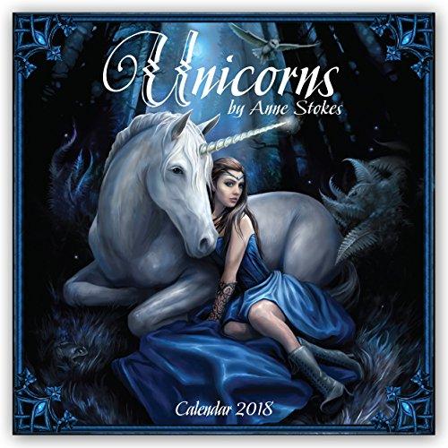 Unicorns by Anne Stokes Wall Calendar 20...