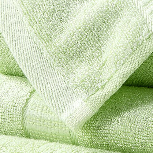 fibra di bambù asciugamani tre insiemi di spessore assorbimento acqua naturale ( Colore : 7 ) 5