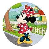 Generique - Disco di ostia Minnie a casa Taglia Unica