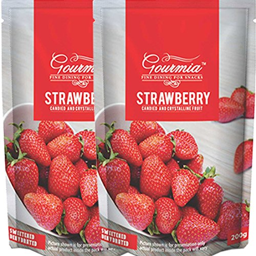 Gourmia Dried Strawberry 400g(200x2)