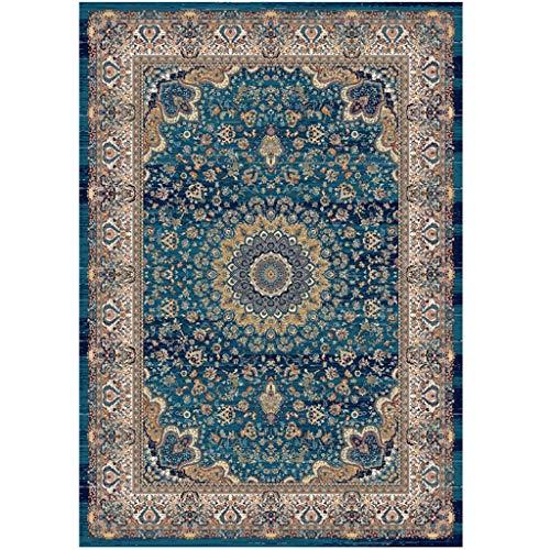 Qiao tappeto da salotto tavolino tappeto da salotto in stile iraniano tappetino da caffè tappeto da camera da letto per camera da letto completo coperta rettangolare tappeto antiscivolo