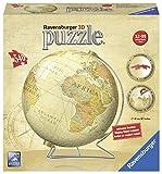 Ravensburger Spieleverlag 12434 - Vintage Globus - 540 Teile 3D Puzzle-Ball
