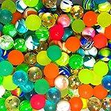 German Trendseller® - Flummi Mix für Kinder┃ 8er Set ┃ Springball ┃ 8 x Hüpfball ┃ Kindergeburtstag ┃ Mitgebsel ┃ inkl. SUPER Sprungkraft